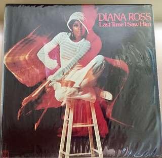 Diana Ross Vinyl Record LP