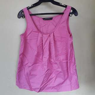 Zara fuschia sleeveless