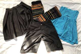 ALl in Bottoms Skirts and Shorts