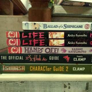 Assorted Preloved Manga