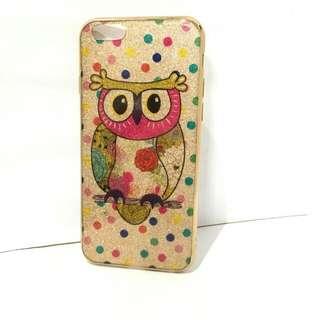 CASE IPHONE 7+ SOFT CASE PRETTY OWL