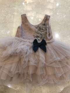 Kakapo party dress for girl