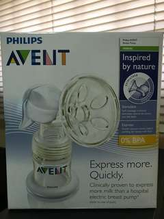Avent manual breast pump (no bottle & valve)