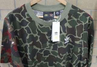 Adidas x Pharrell Camo Tee - Size M fits L