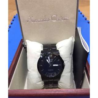 alexandre christie full black original