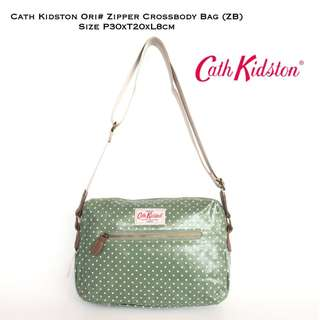 Tas Wanita Import Cath Kidston Original Zipper Crossbody Bag (ZP)