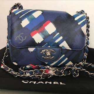 全新Chanel Flying collection 特別版 17cm 羊皮