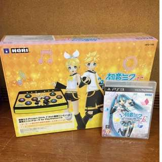 BRAND NEW PlayStation 3 PS3 Hatsune Miku Project Diva Game + Controller Bundle Gaming Game Console Disc Arcade