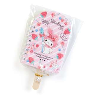 Japan Sanrio My Melody Fruit Bar Shape Mini Spiral Memo (Fruit)