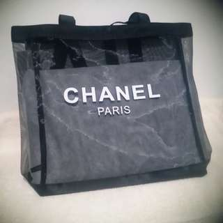 Authentic chanel vip mesh shoulder bag