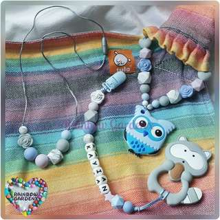 Handmade Teether Mummy & baby set