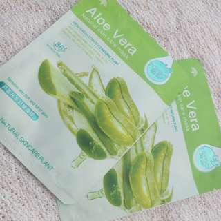 Aloe Vera Natural Skin Care Mask from Rorec