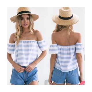 Off shoulder onhand