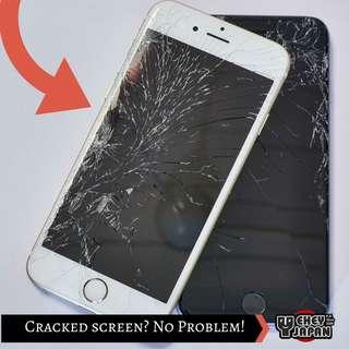 Iphone Crack Screen Repair