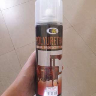 Bosny Polyurethane Clear Finish Spray