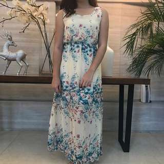 SALE! Floral Long Dress