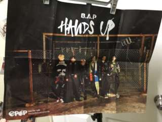 B.A.P poster