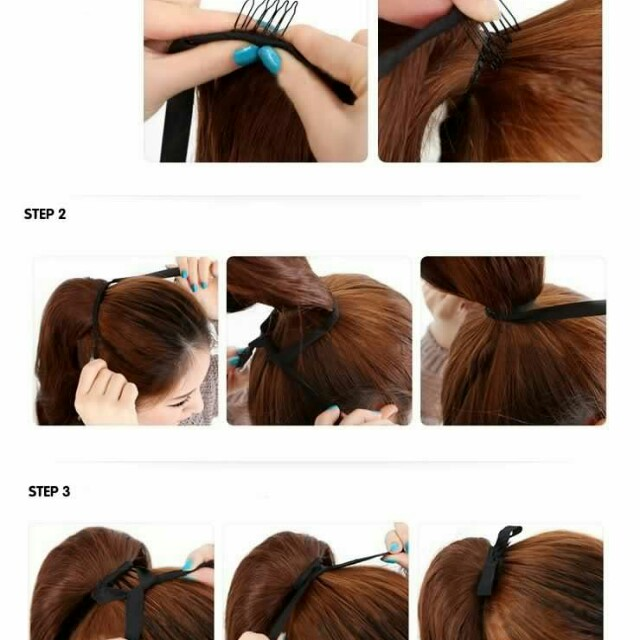 $15.90 Free Mail Curly Wavy Ponytail Hair Extensions