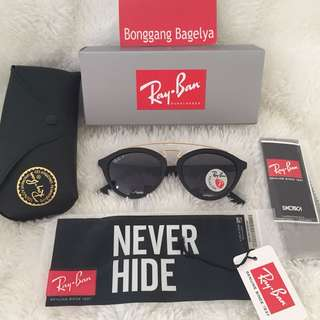 Authentic Rayban Polarized Size 51-19