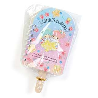 Japan Sanrio Little Twin Stars Fruit Bar Mini Spiral Memo (Fruits)