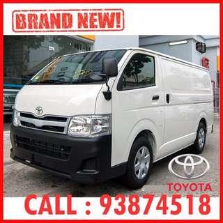 Brand New - Toyota Hiace Van