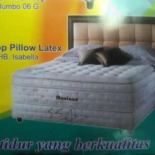 Springbed Plustop Pillow Latex bisa kredit tanpa DP