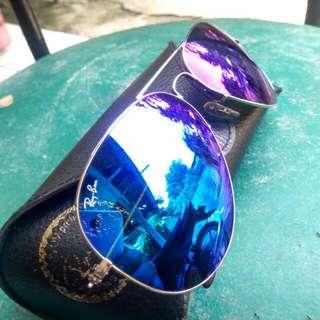 ( MASIH ADA)  Original Rayban ITALY Blue Violet