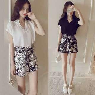 Blouse+ shorts