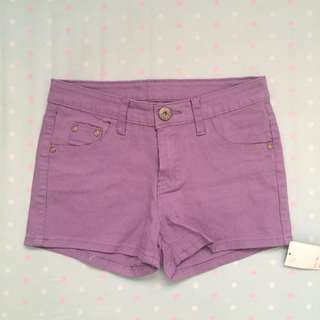 BNWT Purple Shorts