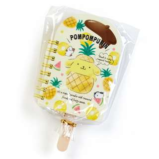 Japan Sanrio Pompompurin Fruit Bar Mini Spiral Memo (fruit)