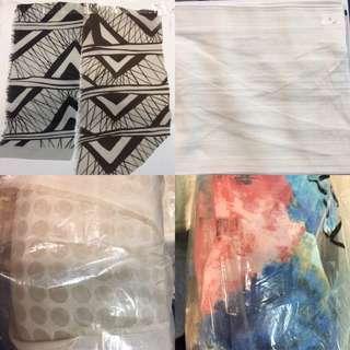 Fabrics Clearance (Plain & Printed, Made In Japan)