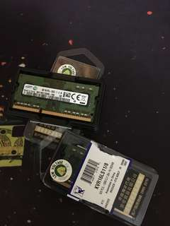 8GB (2pcs. 4GB) SAMSUNG RAM SO-DIMM