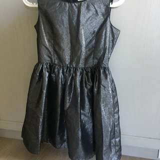 H&M 金屬色洋裝 裙子