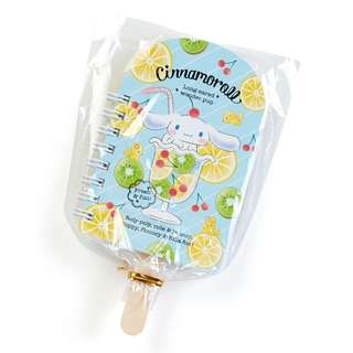 Japan Sanrio Cinnamoroll Fruit Bar Mini Spiral Memo (Fruits)