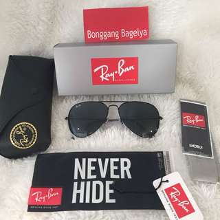 Authentic Rayban Aviator Size 58-14