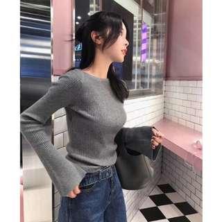 !!!READY STOCK!!! KOREAN BASIC LONGSLEEVE TOP #Fesyen50