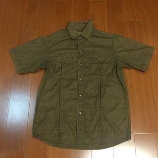 (Size L) Marlboro Classic 萬寶路 百搭排扣襯衫
