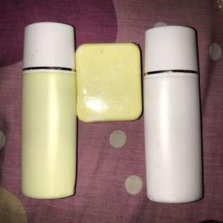Paket whitening lotion