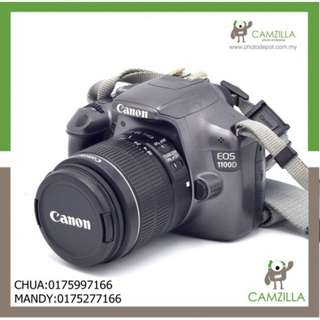 USED CANON 1100D GRAY BODY SC:15K