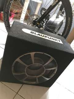 subwoofer amplifier blaupunkt