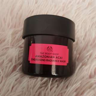 The body shop Amazonian acai mask