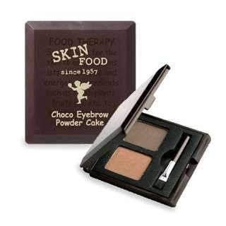 Skinfood Choco Eyebrow Powder Cake in No. 2 Grey Brown
