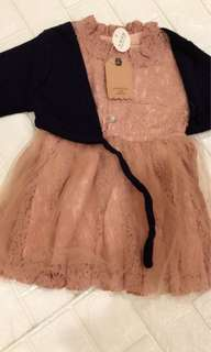 Baby long sleeve dress