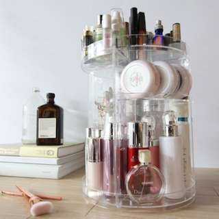 Rotating Vanity Makeup Storage Organizer