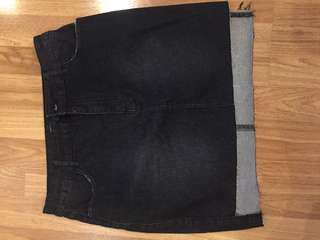 rok jeans forever 21