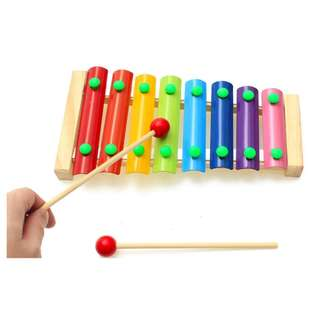 Wooden Xylophone (8 Key), , Musical Toy