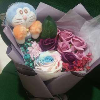 ($55.90) Doreamon rose bb bouquet