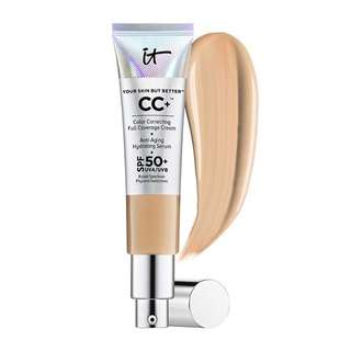 It Cosmetics CC Cream Your Skin But Better Rich Tan