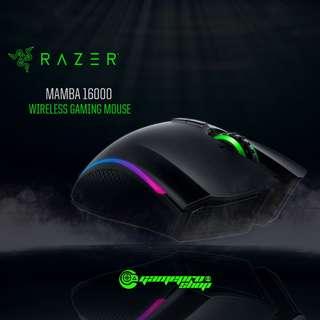 Razer Mamba 16000 Wireless Gaming Mouse (RZ01-01360100-R3A1)