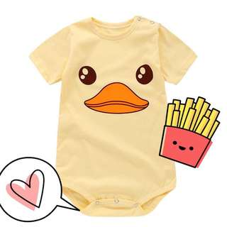 Baby Romper (ready stock 100% cotton)